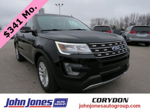 Pre-Owned 2017 Ford Explorer XLT FWD 4D Sport Utility