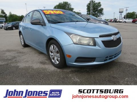 Pre-Owned 2012 Chevrolet Cruze LS FWD 4D Sedan