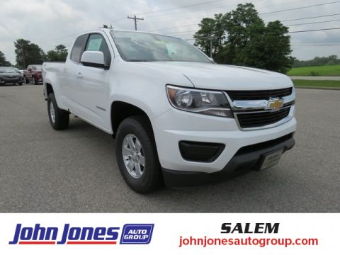 New 2020 Chevrolet Colorado Work Truck 4WD 4D Extended Cab