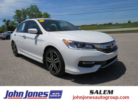 Pre-Owned 2017 Honda Accord Sport FWD 4D Sedan