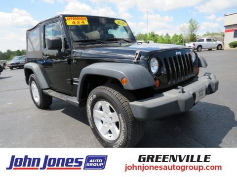 Pre-Owned 2010 Jeep Wrangler Sport 4WD 2D Sport Utility