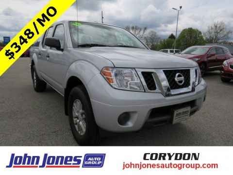 Pre-Owned 2018 Nissan Frontier SV 4WD 4D Crew Cab