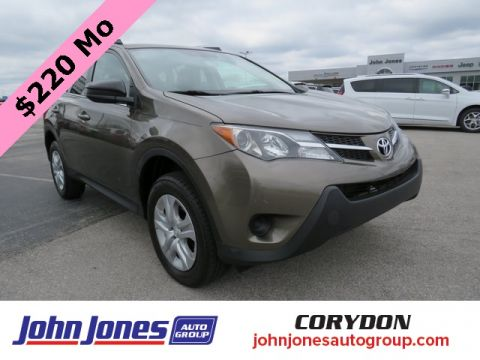 Pre-Owned 2015 Toyota RAV4 LE AWD 4D Sport Utility